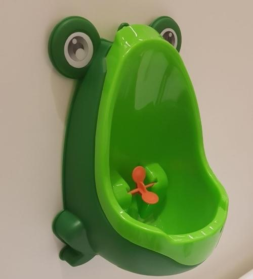 Mictório infantil sapinho para um desfralde divertido