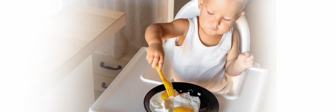 Quando oferecer ovo ao bebê e quais os benefícios?