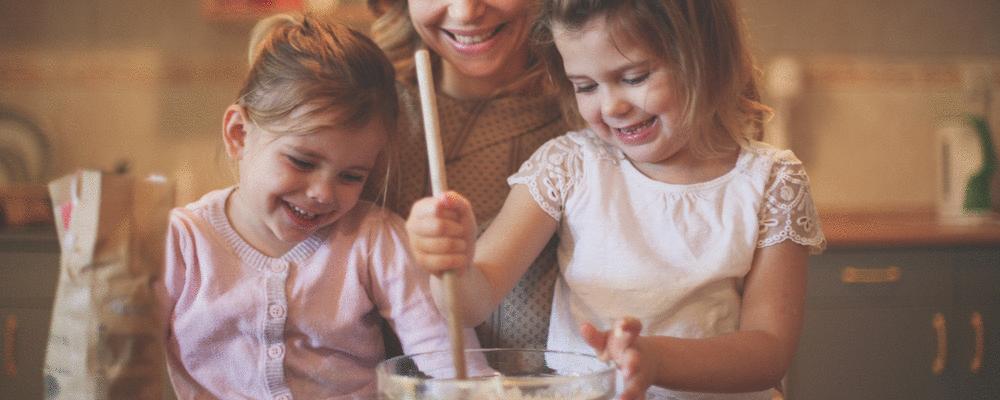 Três receitas para fazer com as crianças nas férias