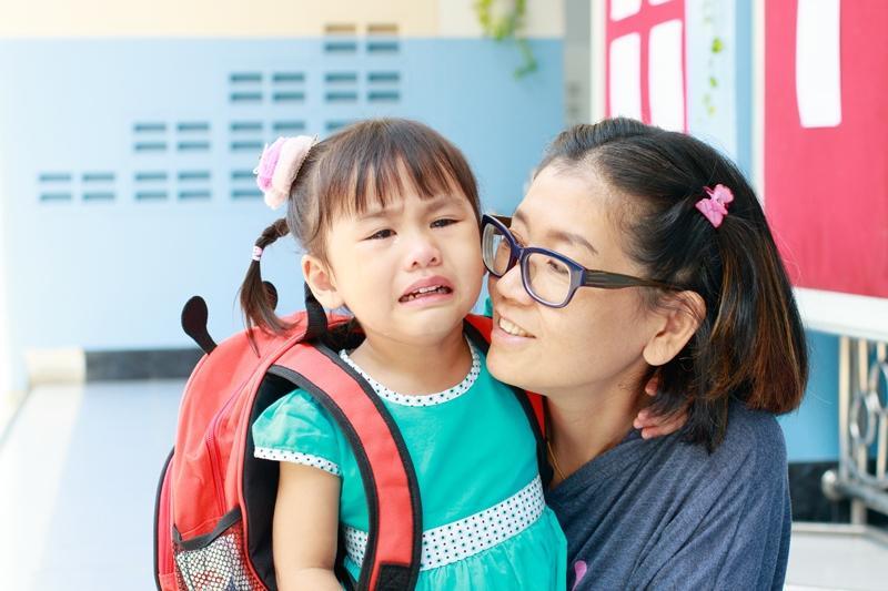 Escolinha: como preparar o emocional da criança e da mamãe