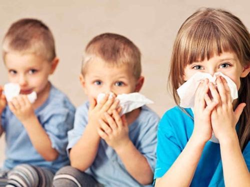Gripes, resfriados e problemas respiratórios em crianças