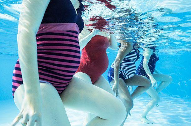 Hidroginástica na Gravidez – Conheça os Benefícios