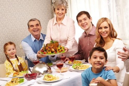 A importância das receitas de família