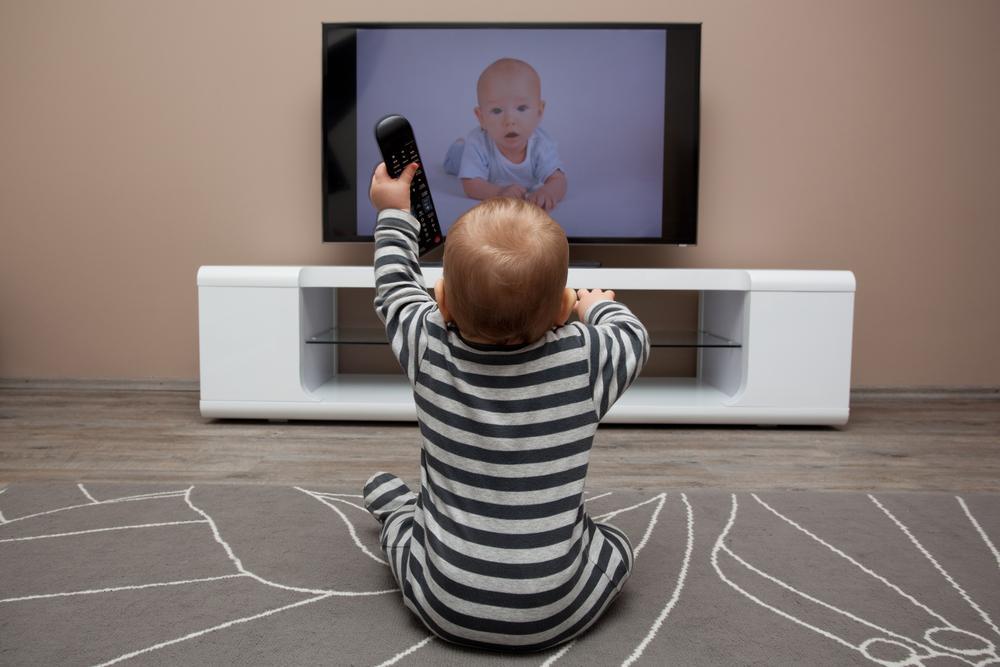 Meu bebê na TV...Será?