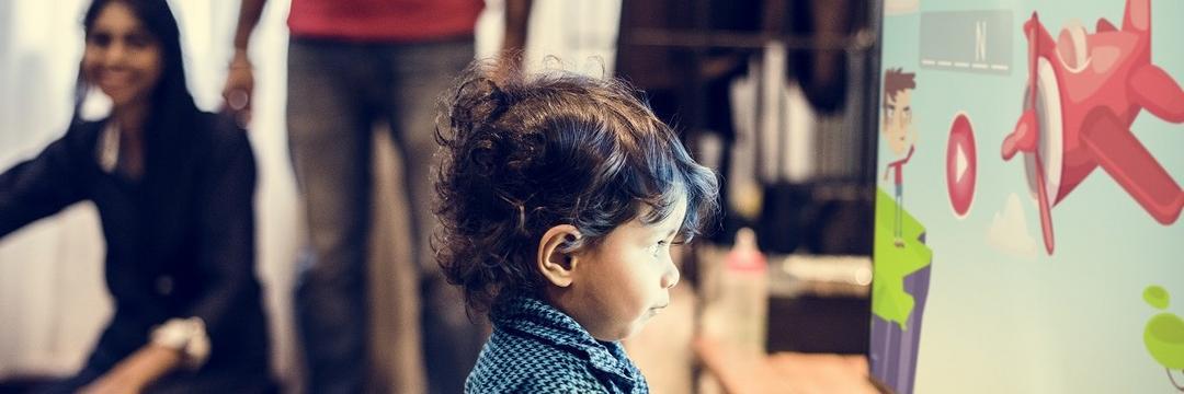 A influência da televisão na educação das crianças