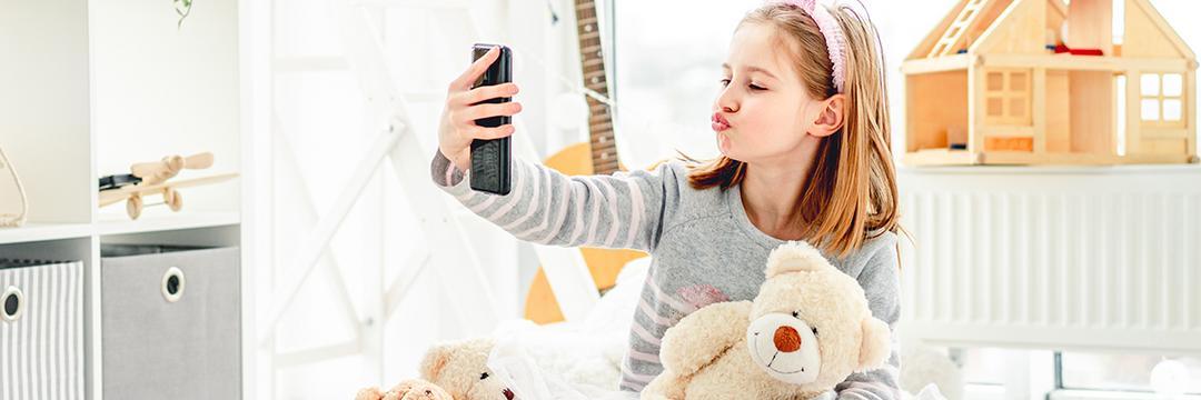Exposição das crianças Youtubers Mirins