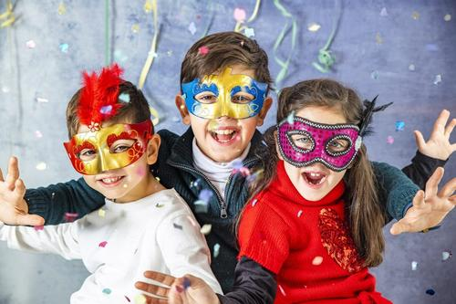 Cuidados com as crianças no carnaval