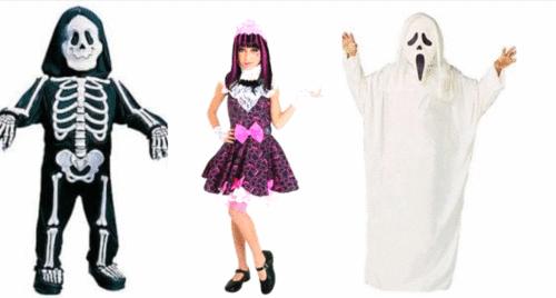 Dicas de fantasias e maquiagens para o halloween das crianças