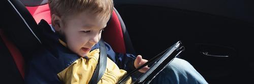 Evite enjoos durante as viagens com as crianças