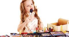 Qual a hora certa de usar produtos de beleza nas crianças?