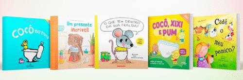 5 livros para ler com seu filho no processo de desfralde