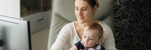 Dicas para se organizar e trabalhar em casa após a chegada do bebê