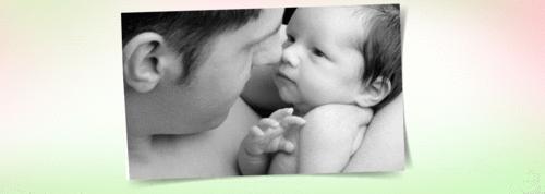 Carta de um recém-nascido para o papai
